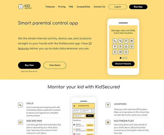 App 10: KidSecured