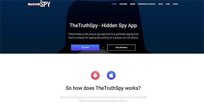 App 2: TheTruthSpy
