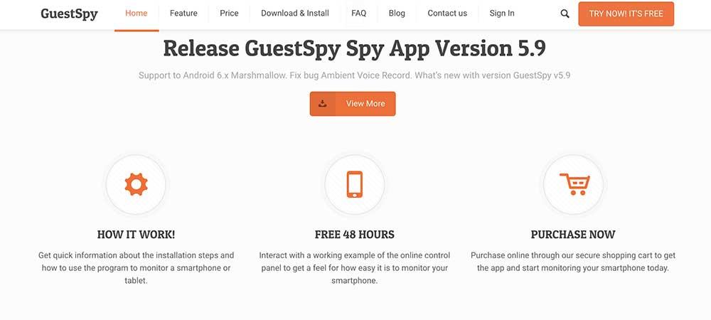 GuestSpy App