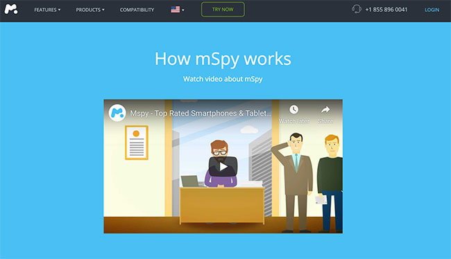 How does the mSpy App Work?