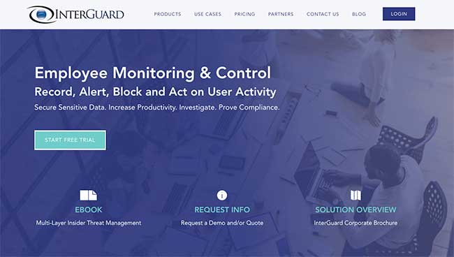 InterGuard PC Monitoring