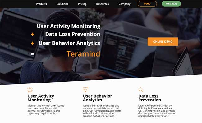 TeraMind Employee Monitoring