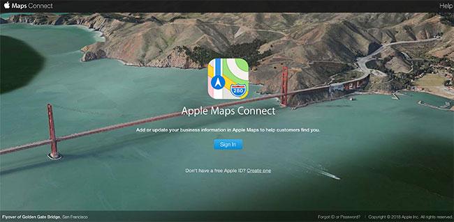 Control-Apple Maps App