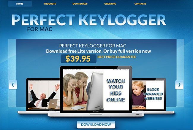 Perfect Keylogger Lite for Mac App