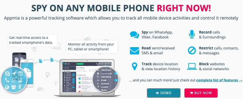 Appmia Mobile Spy